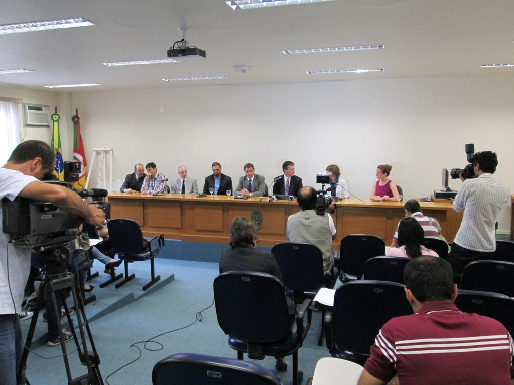 Entrevista ocorreu na sede do MP de Santa Maria