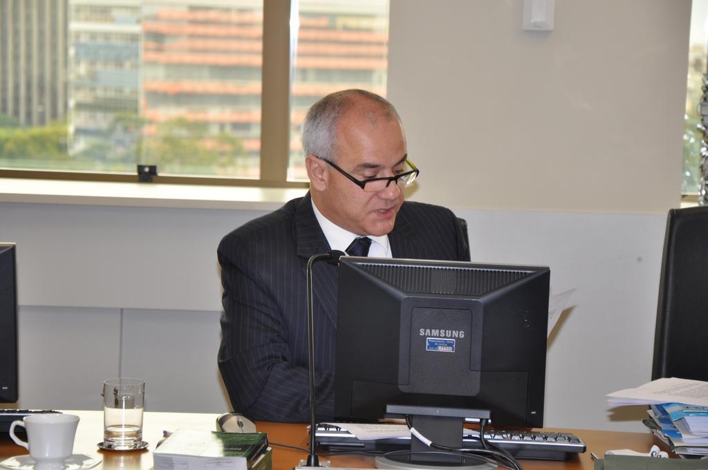 Roberto Bandeira Pereira foi o Conselheiro-Relator