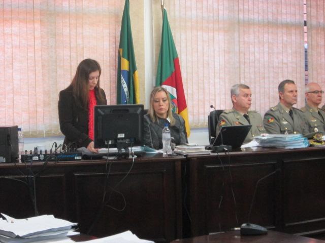Julgamento ocorreu na sede da Justiça Militar...