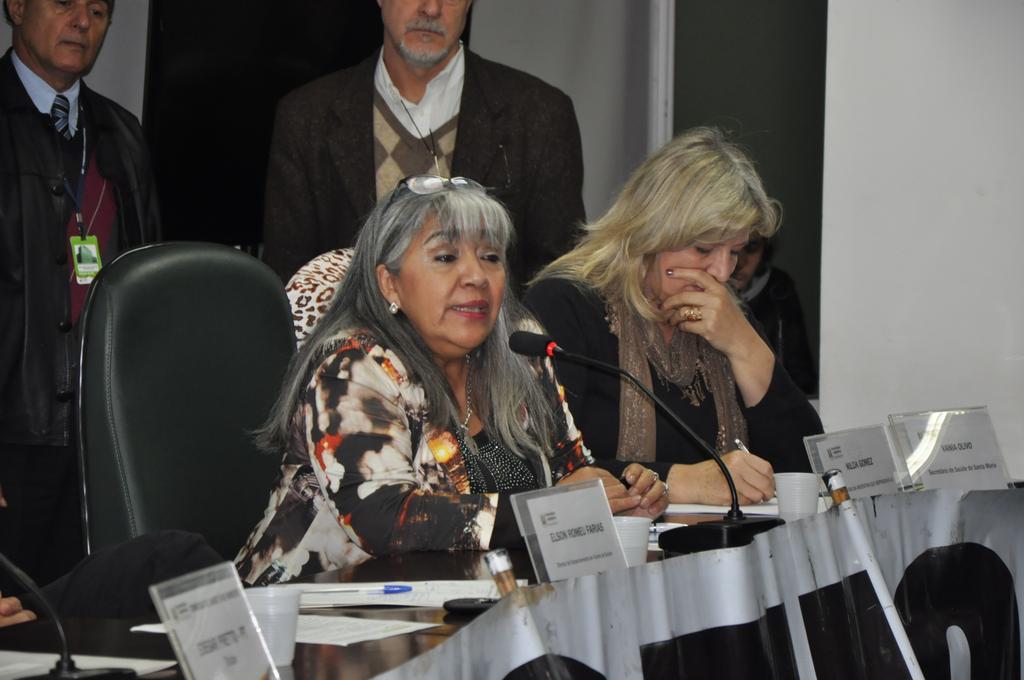 Nilza Gomes, presidente da ONG La Vida, da Argentina