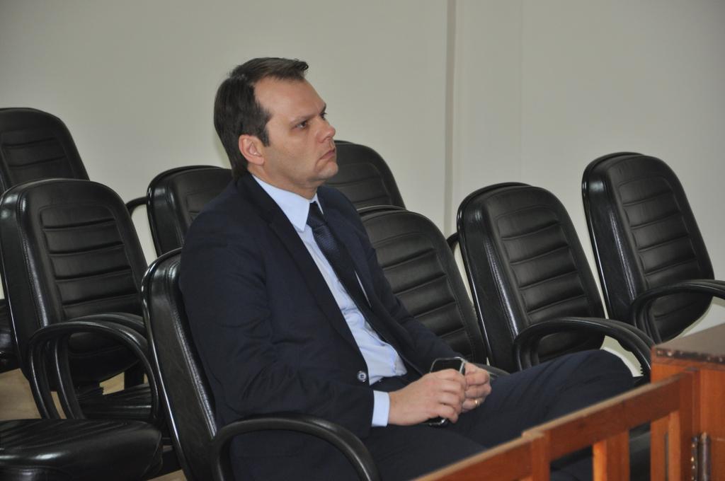 Luciano Vaccaro acompanhou o julgamento